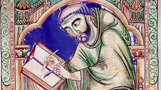 medieval-scribe